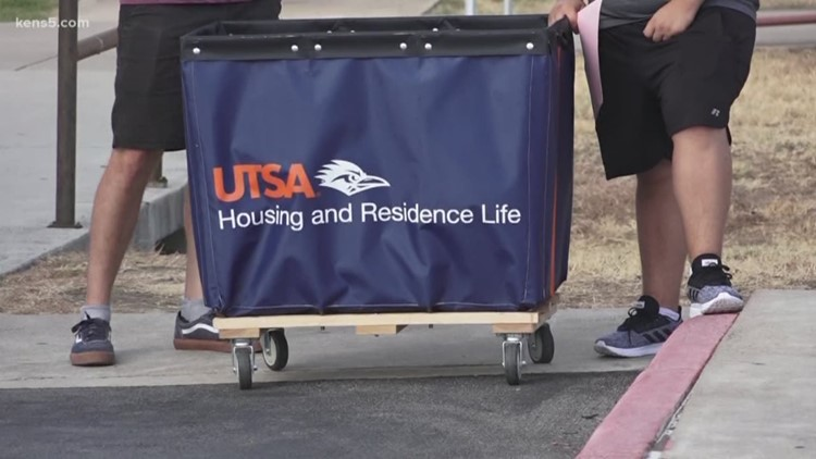 It's move-in day at UTSA