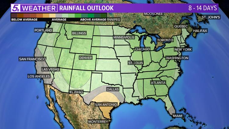 Rain Chances Return For San Antonio By Mid Week Kens5 Com