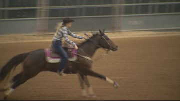 Texas Outdoors: Barrel Racing is a wild ride!