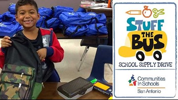 Support SA-area students: Stuff The Bus with school supplies this summer