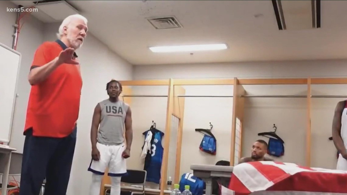 Gregg Popovich delivers emotional speech after winning Olympic gold, sends message to doubters