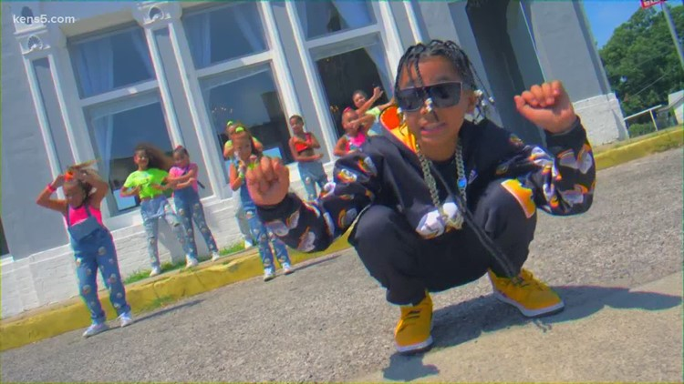 Meet a 12-year-old rapper known for his positive music | Kids Who Make San Antonio Great