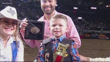 Mutton Bustin' Feb. 11: Bo Wilder takes top prize