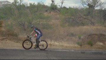 Amputee veteran traveling across U.S. to raise help for disaster relief organization
