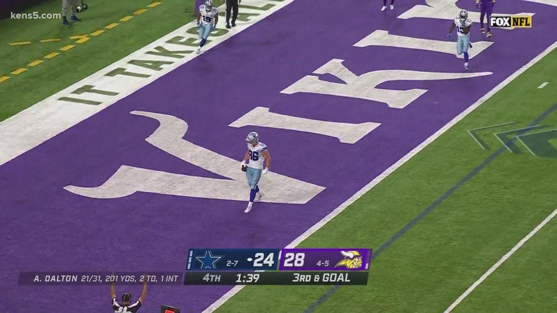 Dallas Cowboys beat Vikings 31-28