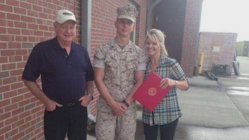 Criminals target U.S. Marine, steal family items—including father's ashes
