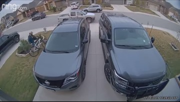Video: Man steals bicycle from New Braunfels garage, police say he could be connected to multiple burglaries