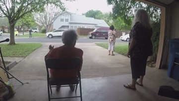 Community helps Texas woman celebrates her 90th, from a safe distance
