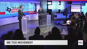 TEXAS DEBATE: O'Rourke says Sen. Cruz hasn't been there for Texas