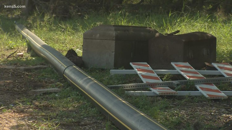 San Antonio utility crews stumble upon two empty caskets