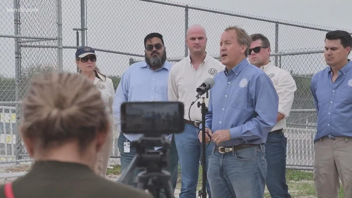 Texas AG Ken Paxton threatens to sue Biden Administration over border policies