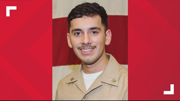 Missing Navy sailor believed to have gone overboard is from San Antonio