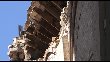 Travis Park Church youth building roof collapses