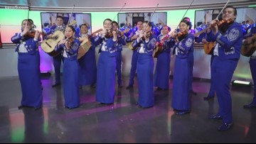 John Jay HS' talented Mariachi Band