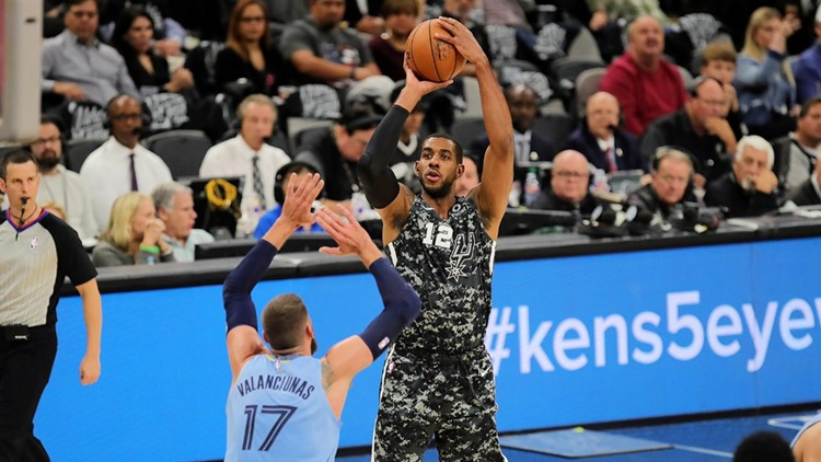 Spurs lose second straight game at home, fall to Grizzlies 113-109