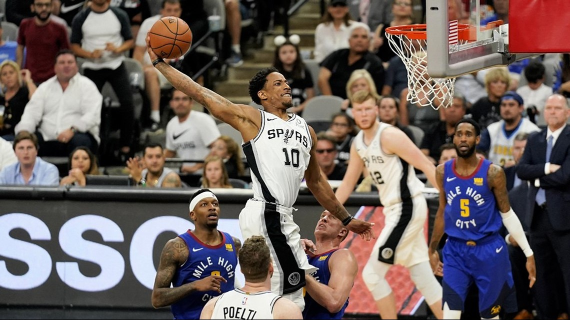 Spurs made things tougher on themselves by losing at home, failing to take 3-1 series lead against Nuggets