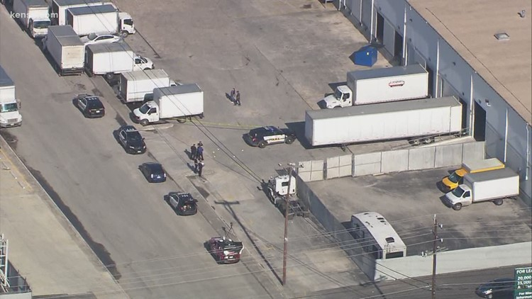 Delivery truck driver followed and shot in apparent road rage incident on east side, SAPD says