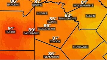 San Antonio sets record high temperature for Friday
