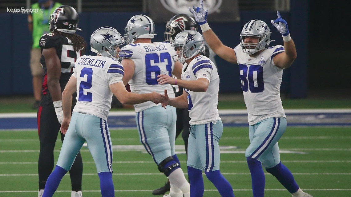 HIGHLIGHTS: Cowboys pull off miracle comeback to beat Falcons 40-39 in home opener
