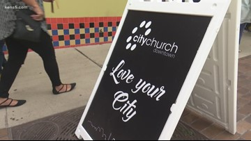 Downtown church helps homeless after new ordinance