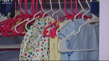 Clothes made with love donated to children in need