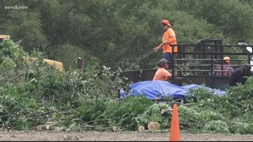 San Antonio to recycle 1,500 tons of storm debris as free mulch for residents