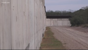 Project to build a border wall in Texas could stop soon