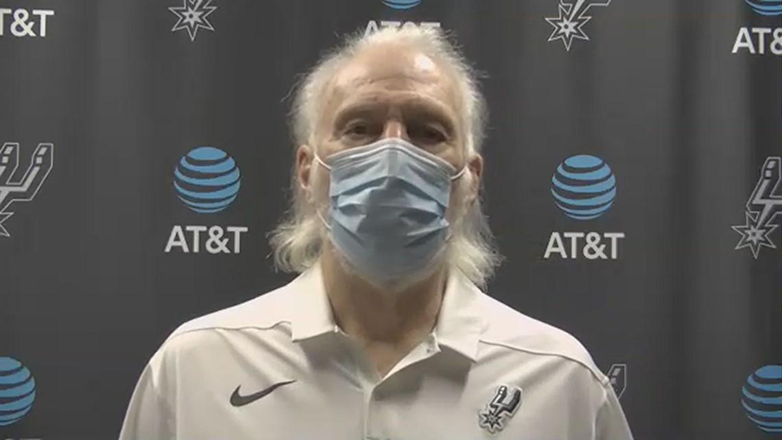 Gregg Popovich speaks before Spurs take on Knicks as Keldon Johnson returns