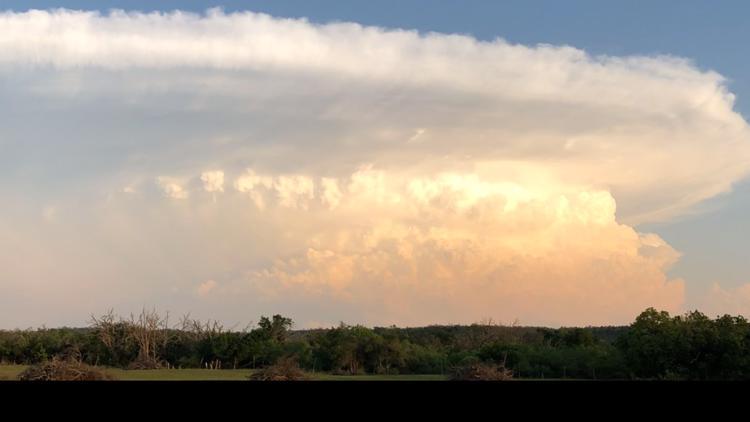 Heavy rainfall, dangerous hail sweep across San Antonio region; Severe Thunderstorm Watch until 11 p.m.