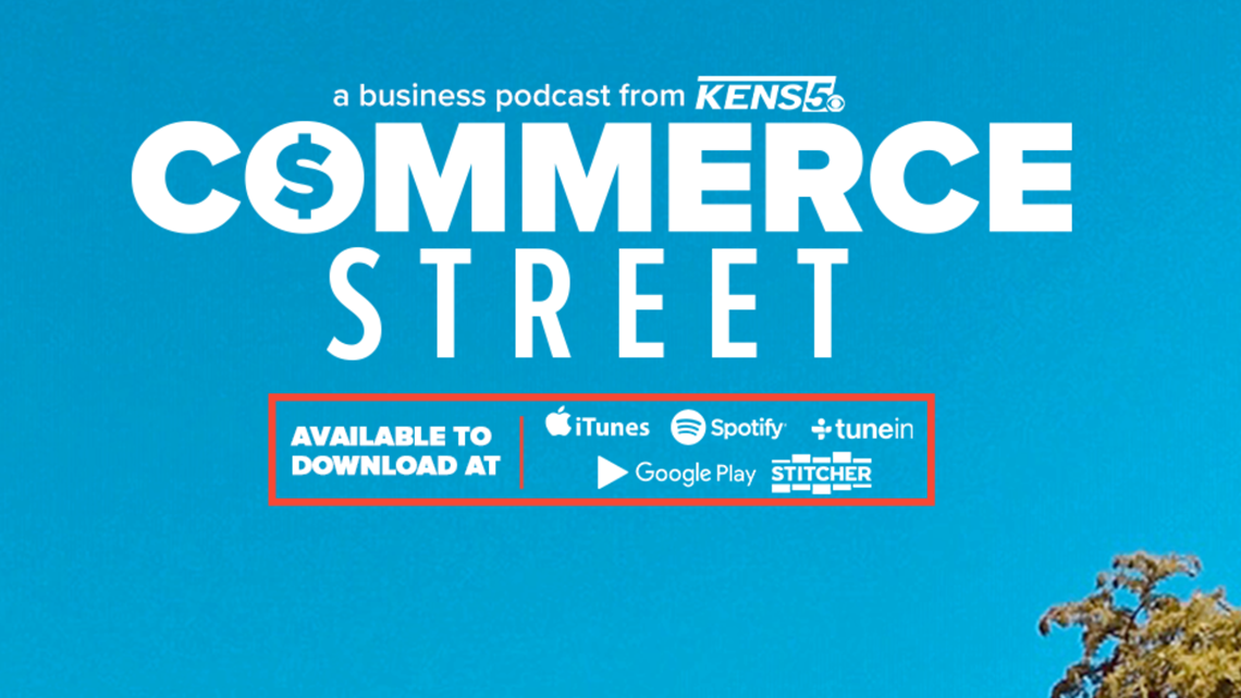 COMMERCE STREET | How to listen to KENS 5's business and economic podcast