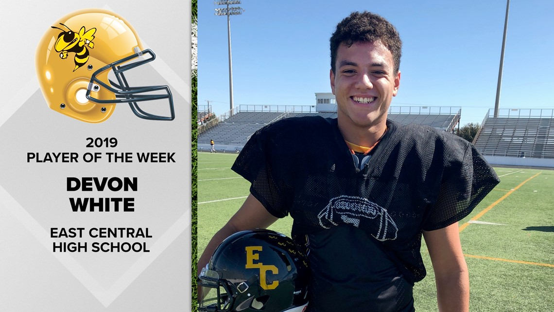 East Central football player singing a different tune | FNF Player of the Week