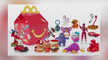 McDonald's celebrates 40th anniversary of Happy Meal with throwback toys