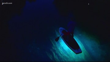 A glowing paddleboard adventure in San Marcos | TEXAS OUTDOORS