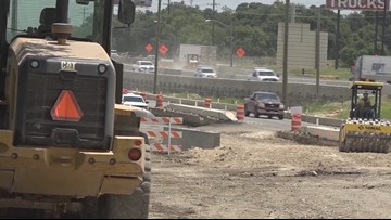 'A death trap:' Neighbors worry about safety of I-10 construction in Boerne