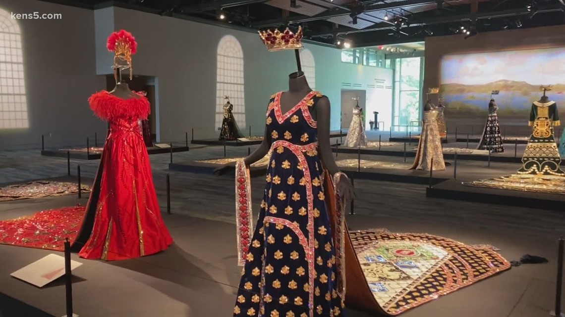 Fiesta coronation gowns on display at Witte Museum 👗