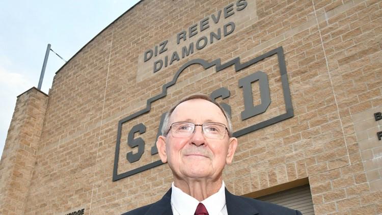 Former SAISD athletic director Diz Reeves