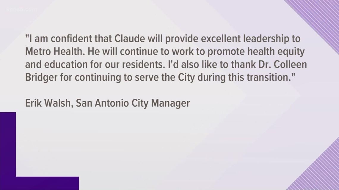 City of San Antonio names new Metro Health director