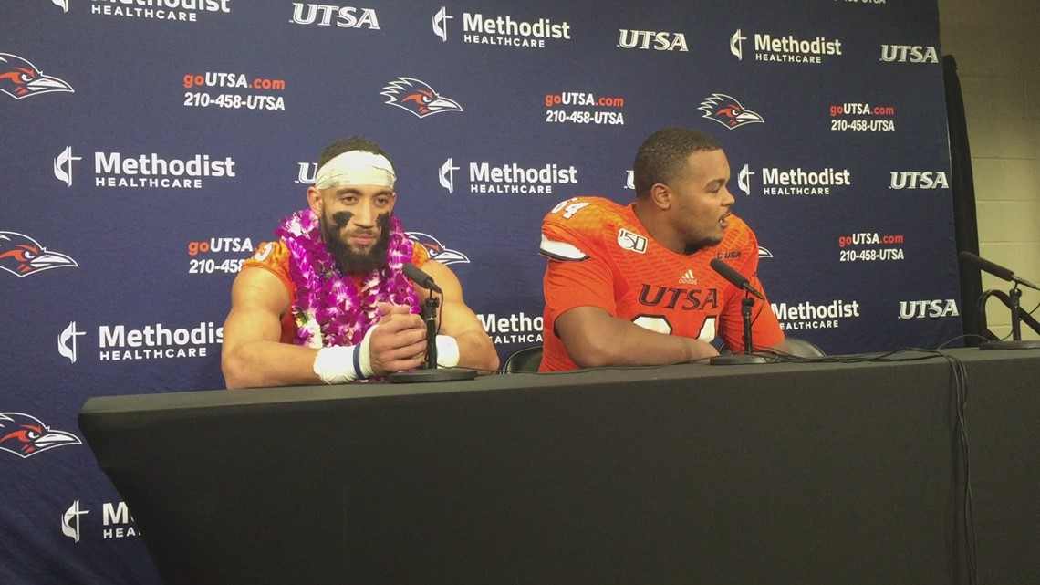 Safety Carl Austin III, offensive lineman Josh Dunlop on the loss to FAU