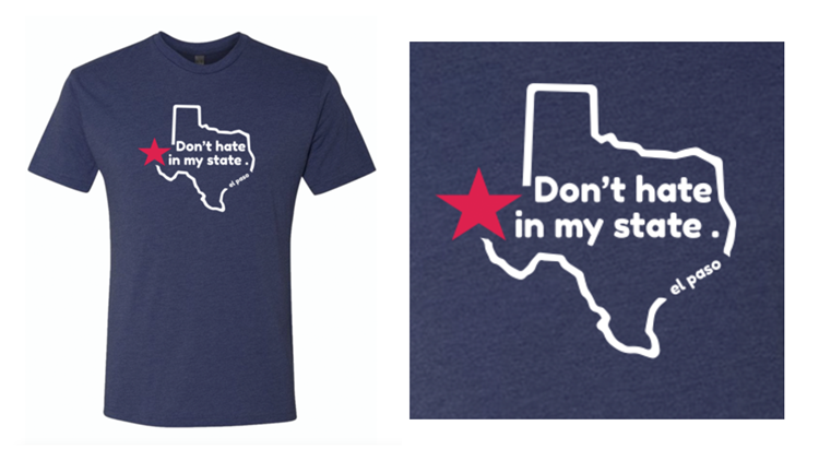 """""""Don't Hate in My State"""" T-shirt"""