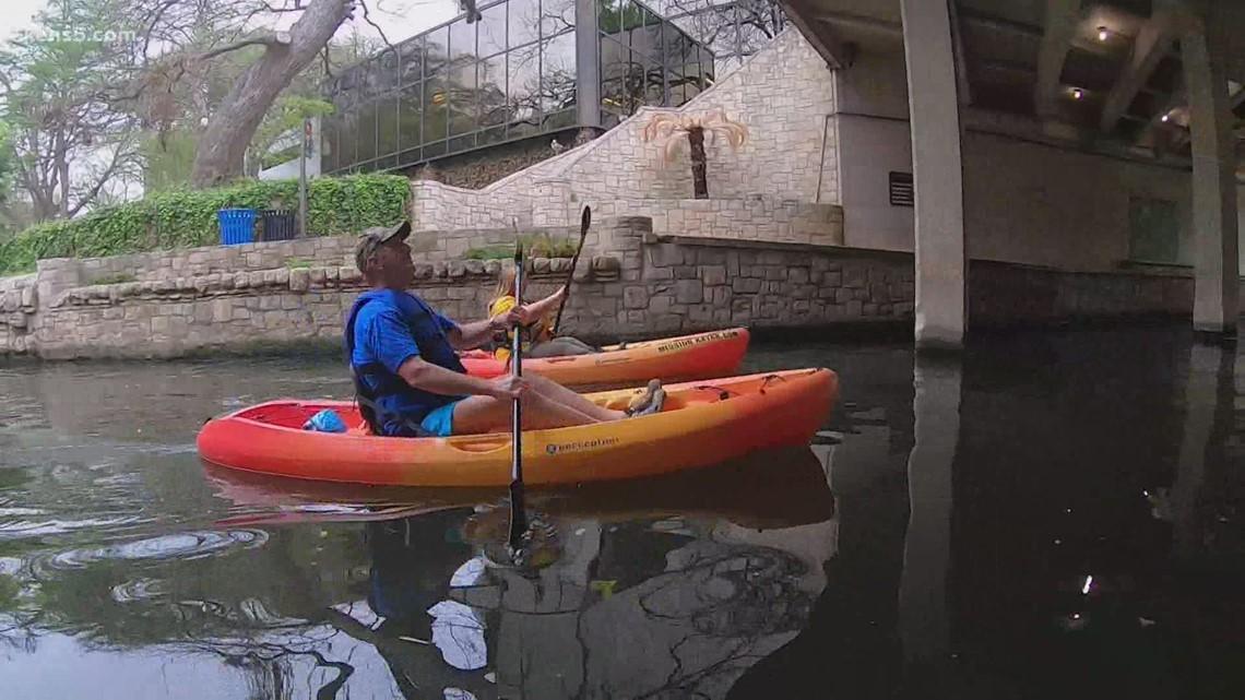 You can kayak on the San Antonio River Walk