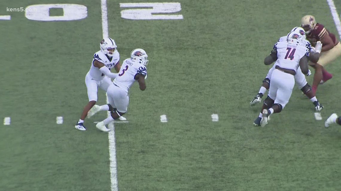 UTSA opens season with thrilling 2OT win against Texas State