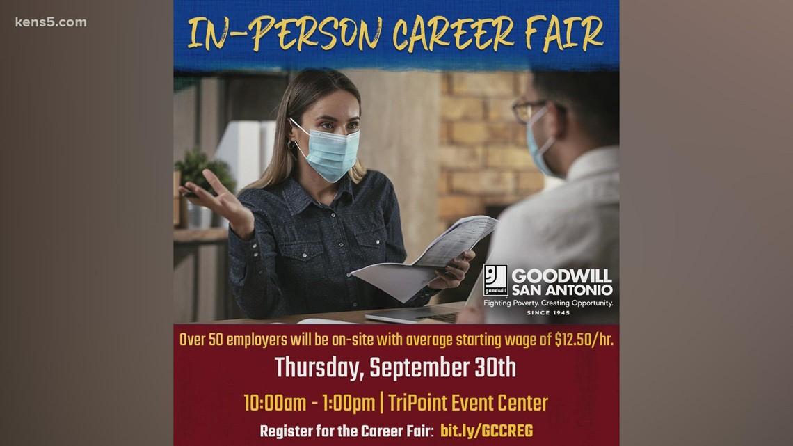 Goodwill San Antonio is hosting a career fair