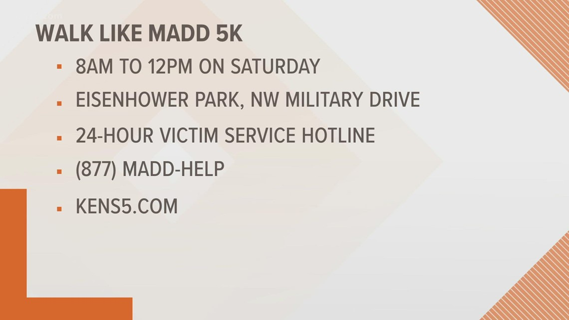 Walk Like MADD event back in person, here's what you need to know