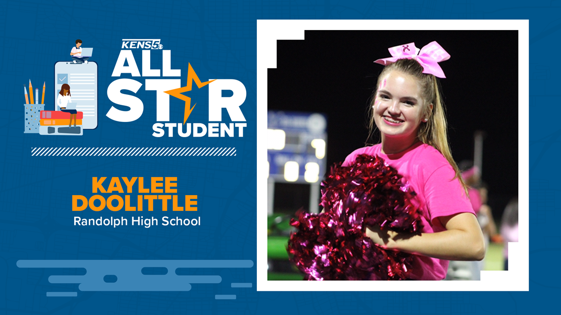 ALL-STAR STUDENT: Randolph Field ISD Senior dedicated to her school and empowering others
