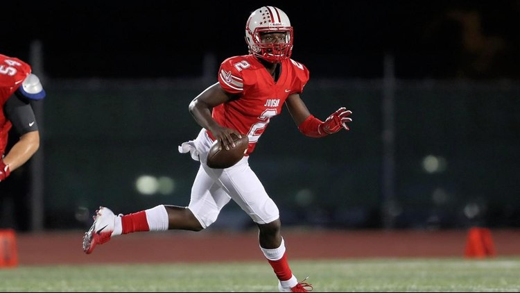 FBH Judson quarterback Mike Chandler as junior in 2018