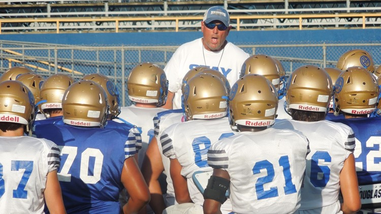 FBH Alamo Heights football coach Mike Norment