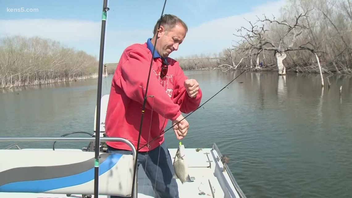 We're going white bass fishing on 'Texas Outdoors'