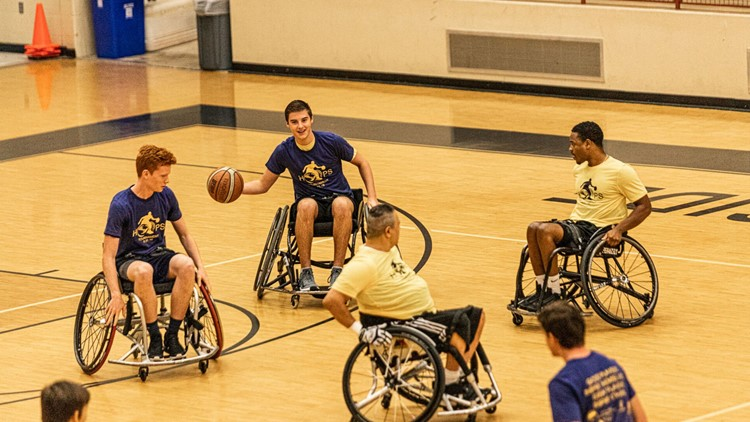 San Antonio teen raises money to buy sports wheelchair for wounded veteran's son
