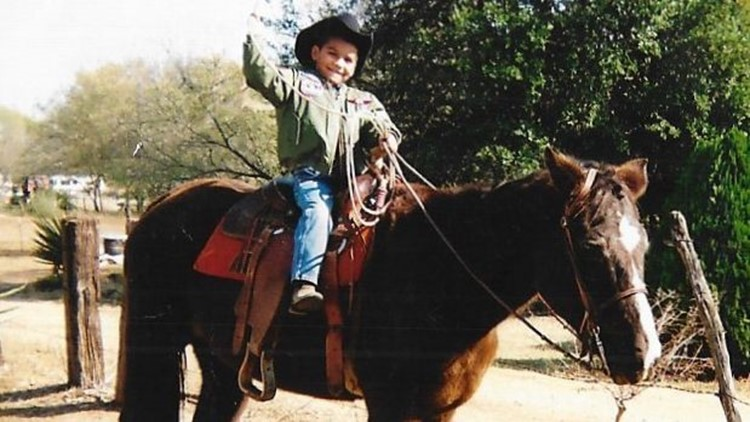 Alejandro Escamilla as a kid