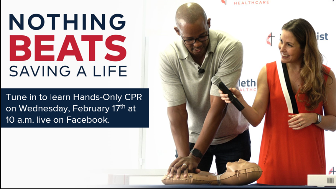 KENS CARES: Hands-only CPR can save lives | Watch now to learn